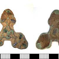 Carolingian mount (top and bottom views)