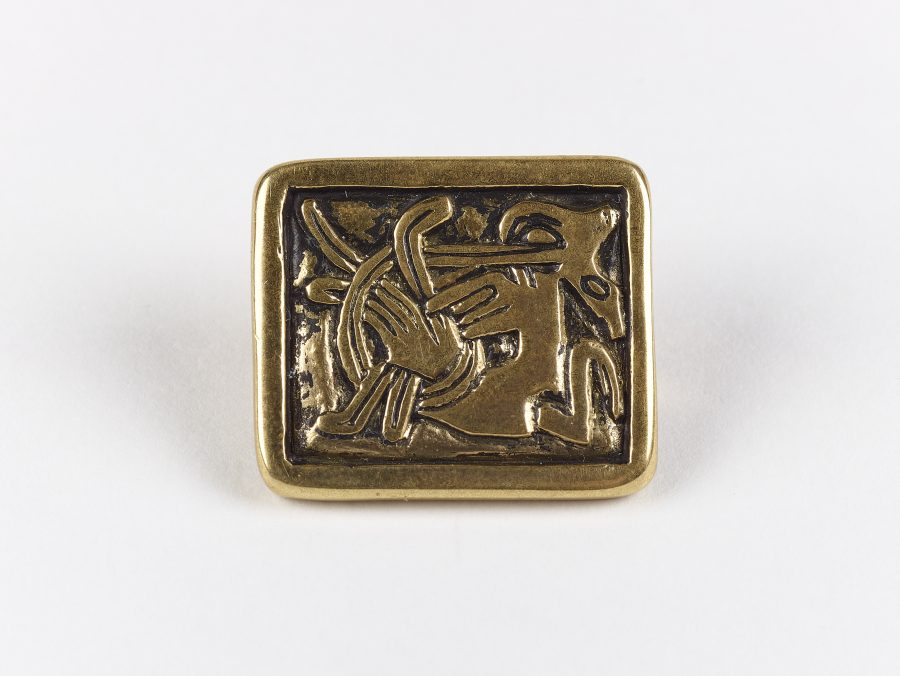 A square brooch in the Mammen style