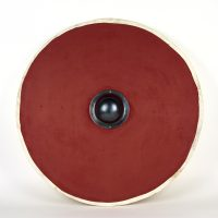 Reproduction shield with iron boss