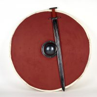 A Viking Age sword and shield