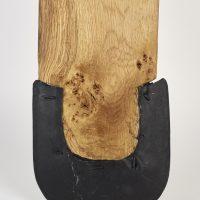 A reproduction Viking spade