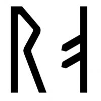 The name Skroppa in runes