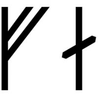 The name Thorfastr in runes