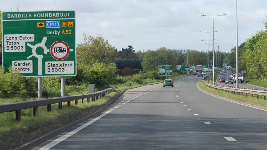 Toton road sign © J.Hannan-Briggs