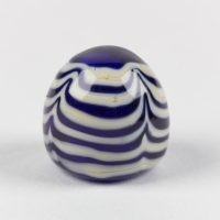 Reproduction blue and white glass gaming piece