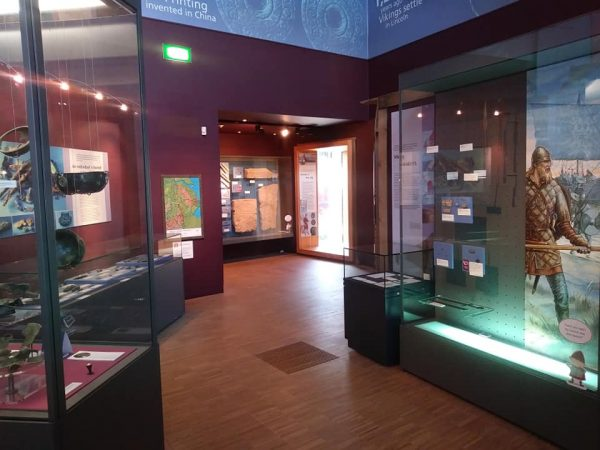 The Viking Age display at The Collection, Lincoln