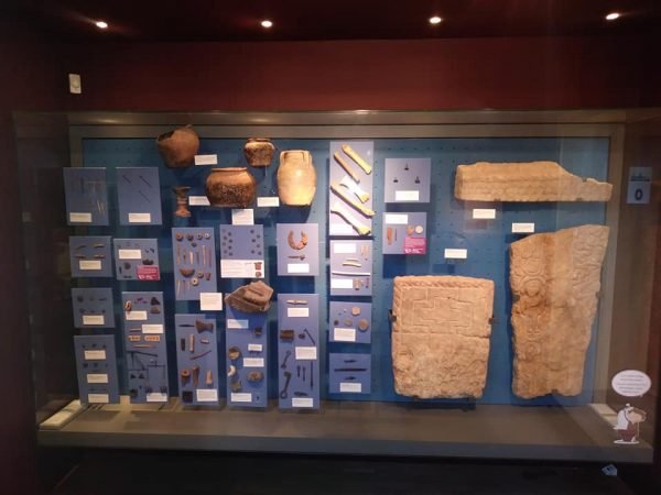 Viking Age artefacts on display at The Collection, Lincoln