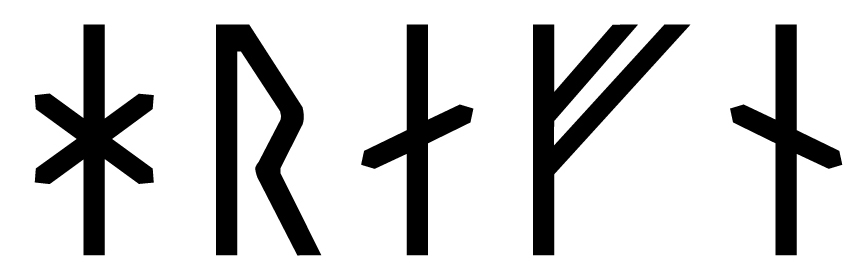 The name Hrafn in runes