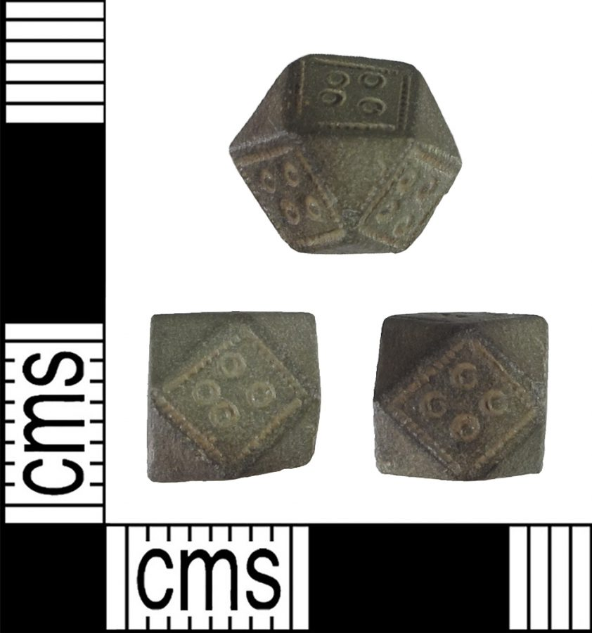 A copper alloy polyhedral weight