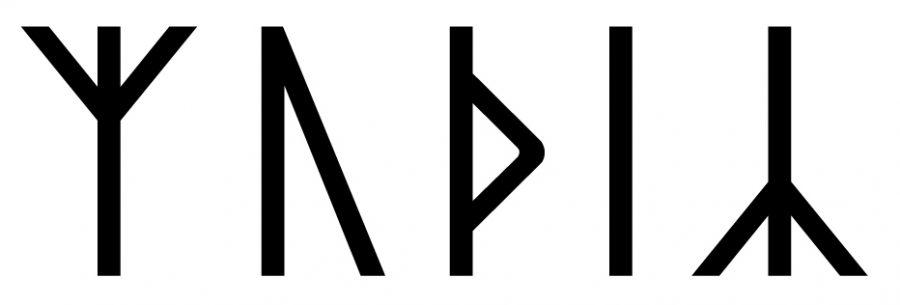 The name Móðir in runes