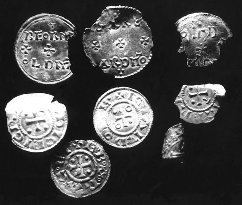 Part of the Thurcaston Hoard. LEIC-C6D945. (c) Leicestershire County Council CC BY-SA 4.0