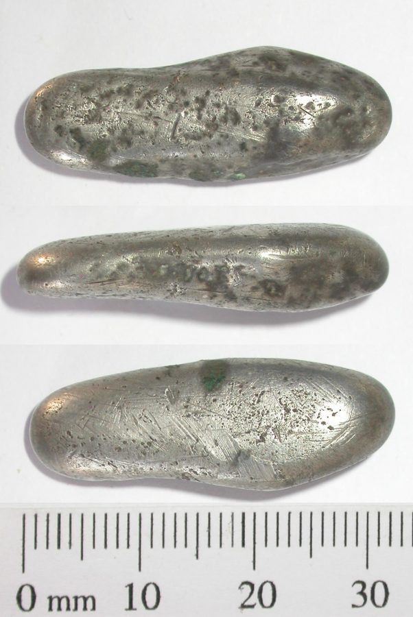 A Viking silver ingot from Breedon on the Hill