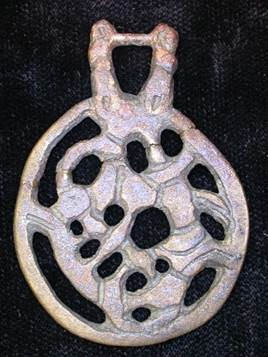 Pendant from Highcross Street, Leicester (LA18.1860) (c) Wendy Scott