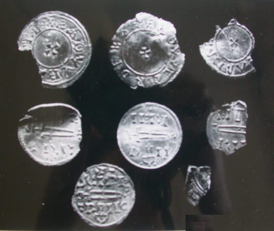 Coins from the Thurcaston Hoard. (c) Leicestershire County Council, CC BY-SA 4.0