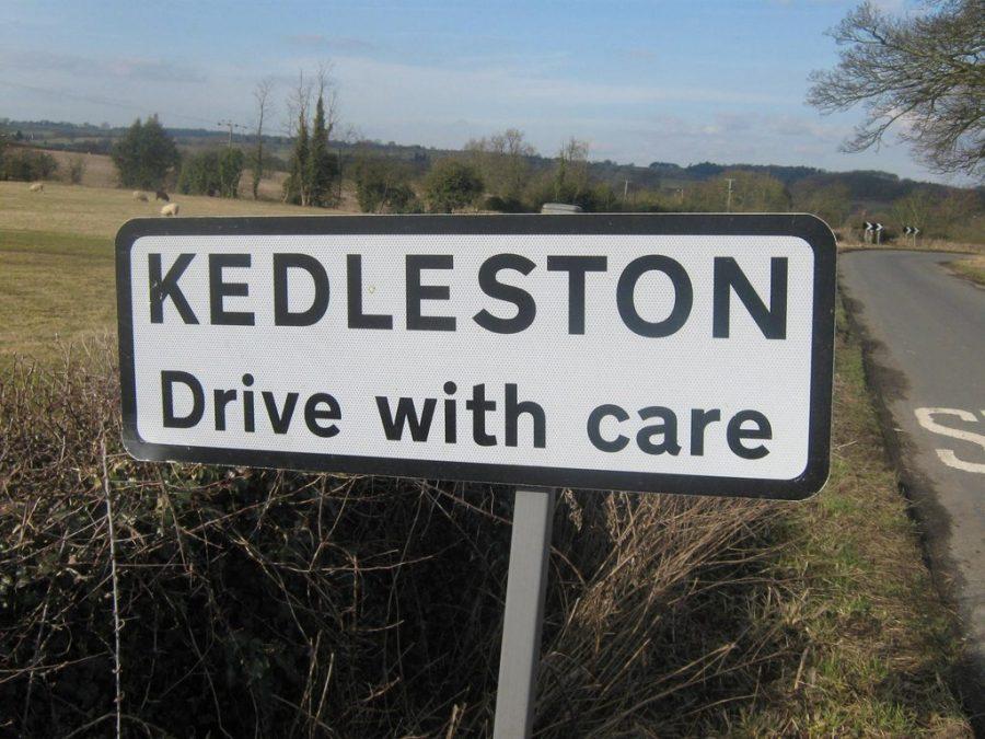 Kedleston sign © Eamon Curry