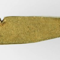 Hackgold Ingot fragment found in Torksey, Lincolnshire. © The Fitzwilliam Museum, Cambridge