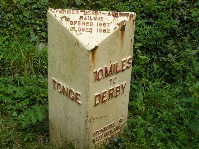 Derby Mile Marker © Andy Jamieson