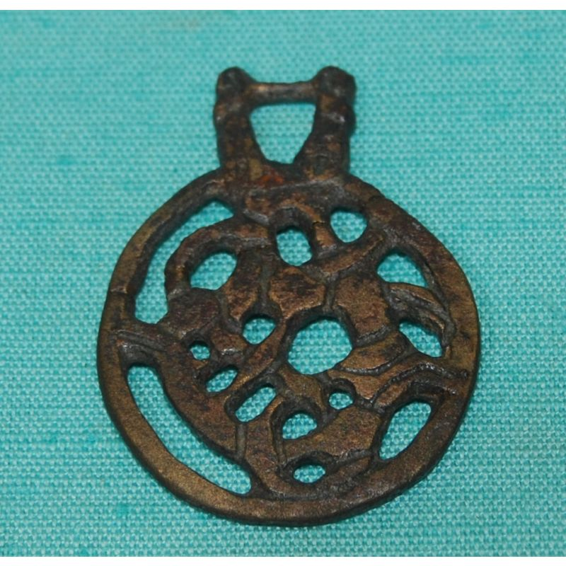 Copper Alloy Pendant (L.A18.1860.0.0) (c) Leicester City Council Arts and Museums, used with permission