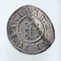 A silver penny of Sihtric Caoch found at Thurcaston, Leicestershire. © The Fitzwilliam Museum, Cambridge