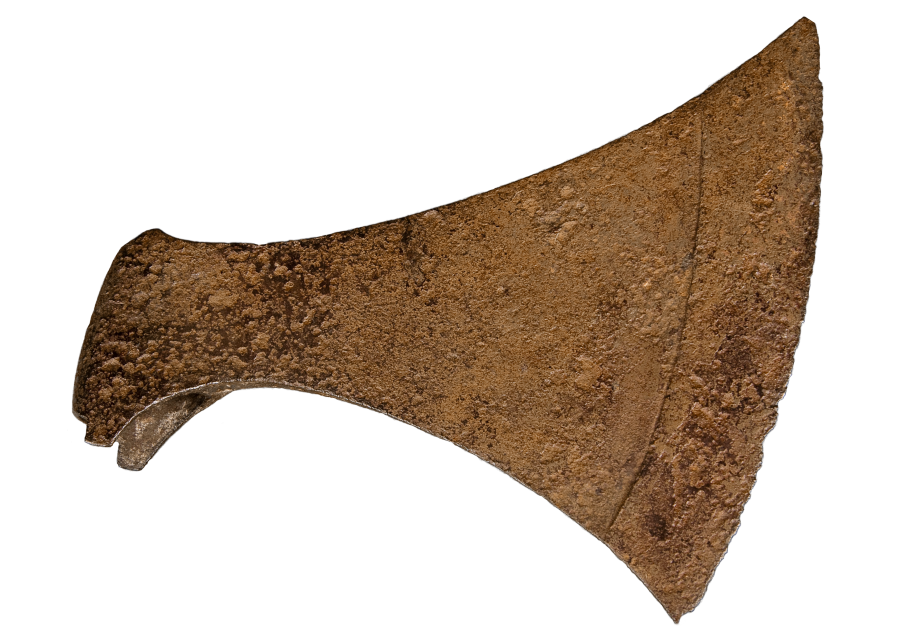 A large socketed axe head (c) Lincolnshire County Council