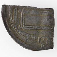 Abbasid Dirham from Al-Abbasiyya mint found in Torksey, Lincolnshire. © The Fitzwilliam Museum, Cambridge