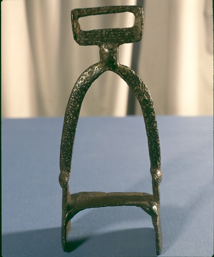 A Viking Age stirrup (c) Lincolnshire County Council