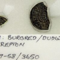 Coin of Burghred of Mercia minted by Dudwine found at Repton(c) Derby Museums 2019
