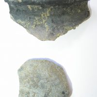 Early medieval pottery from Full Street, Derby, Derbyshire. (c) Derby Museum and Art Gallery