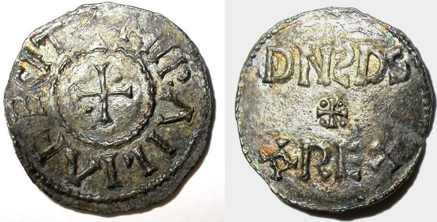Silver penny. (c) Derby Museums 2019