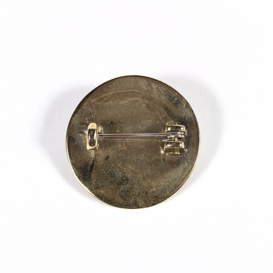 Reproduction Silver Terslev Brooch based on an original from Whitton, Lincolnshire. (c) Centre for the Study of the Viking Age