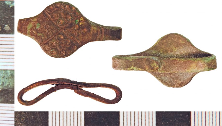 A finger ring imitating Viking design found near Claxby, Lincolnshire. (c) Portable Antiquities Scheme, CC BY-SA 2.0