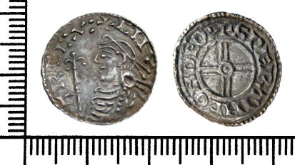 A silver penny of King Cnut the Great. (c) Portable Antiquities Scheme, CC BY-SA 2.0