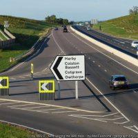 Harby, Colston Bassett, Cotgrove, Owthorpe sign