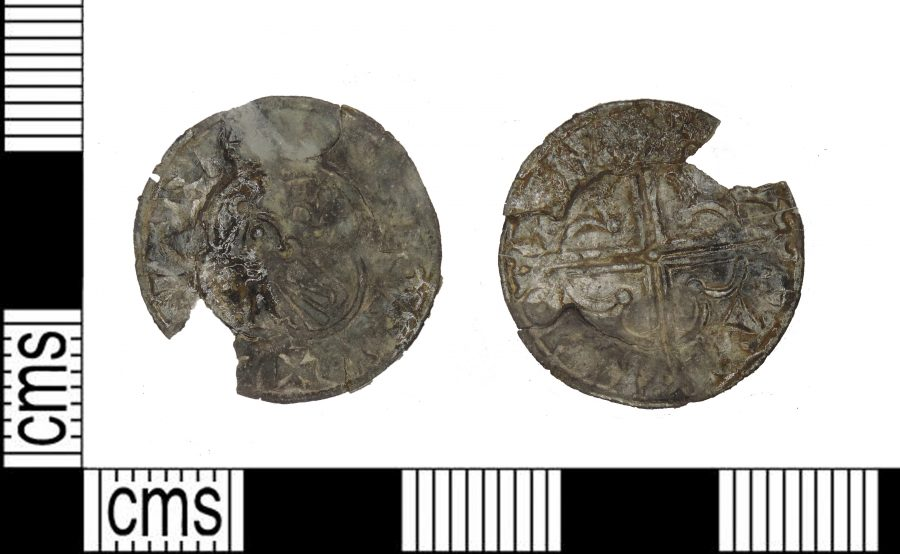 A silver penny of King Cnut found near Market Overton, Rutland. (c) Portable Antiquities Scheme, CC BY-SA 2.0