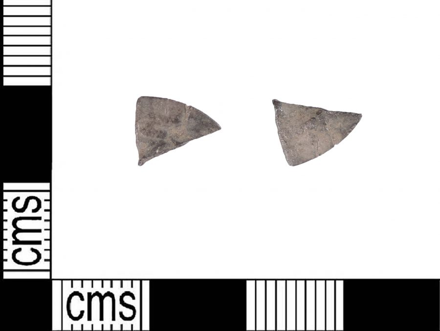 A cut Arabic silver dirham frgament found near Torksey, Lincolnshire. (c) Portable Antiquities Scheme, CC BY-SA 2.0
