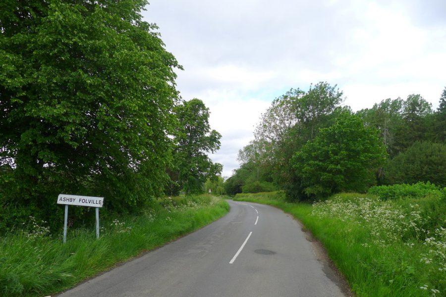 Ashby Folville sign