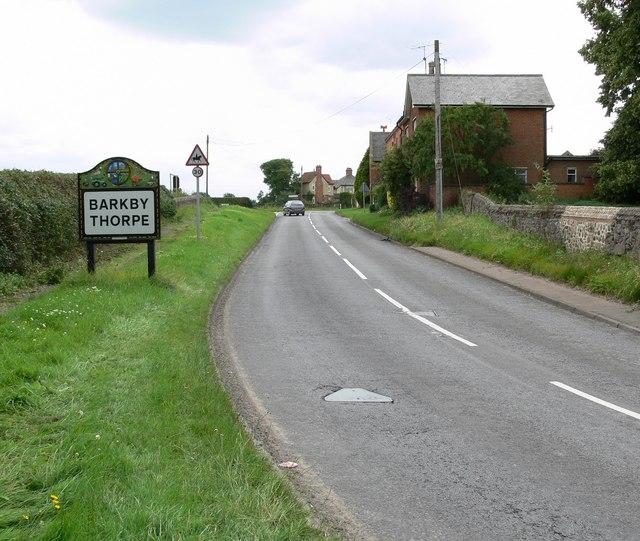 Barkby Thorpe sign
