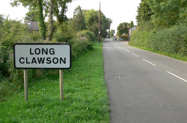 Long Clawson sign