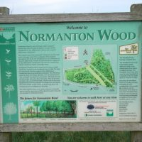 Normanton Wood sign