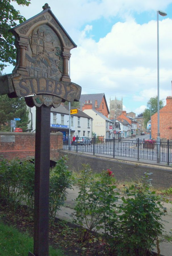 Sileby village sign