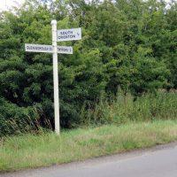South Croxton fingerpost