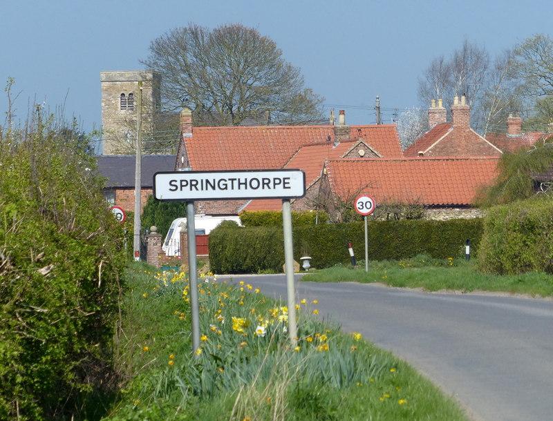 Springthorpe sign