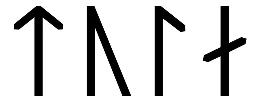 Tola written in Viking Age runes (Group A)