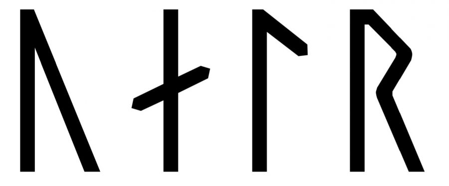 Val written in Viking Age runes (Group A)